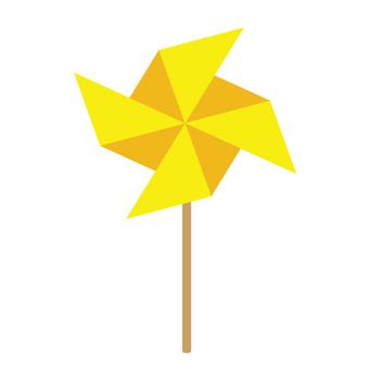 风车(黄色)