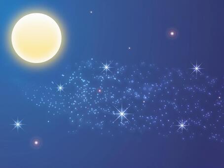 满月夜·银河系
