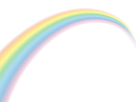 虹_PNG透过/Rainbow