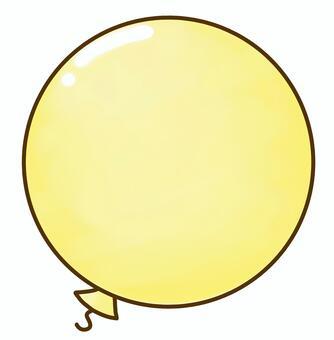 气球(黄色)