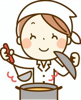 烹饪医生做饭