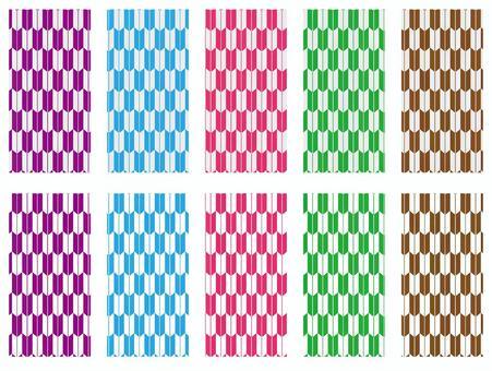 Seamless pattern material set of Yazaki
