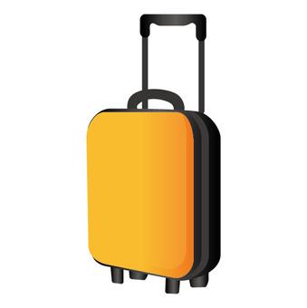 旅行箱(黄色)