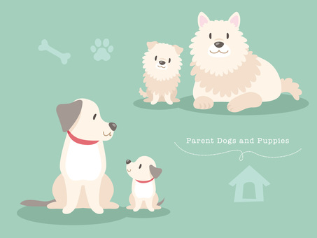 Dog parent and child _ 02