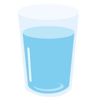 コップの水イラスト/無料イラストなら「イラストAC」