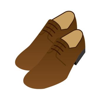 鞋(棕色)