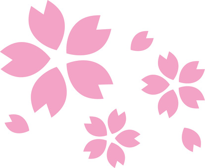 桜の花びらイラスト/無料イラストなら「イラストAC」