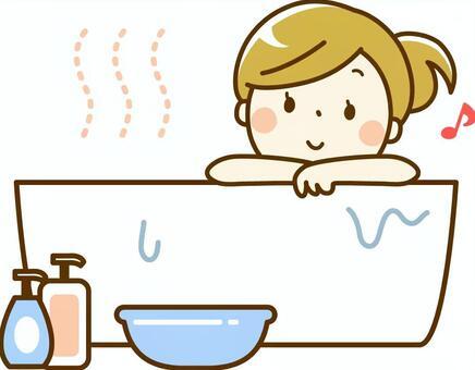 入浴イラスト/無料イラストなら「イラストAC」