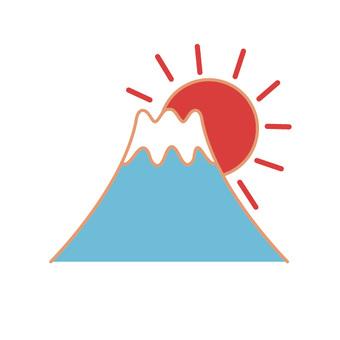日出的山(2)