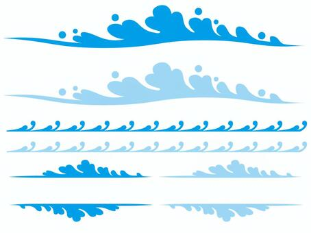 波浪材料集