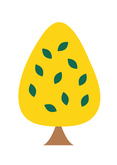 针叶树(黄色)