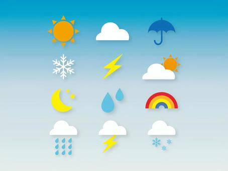 Simple icon (weather)