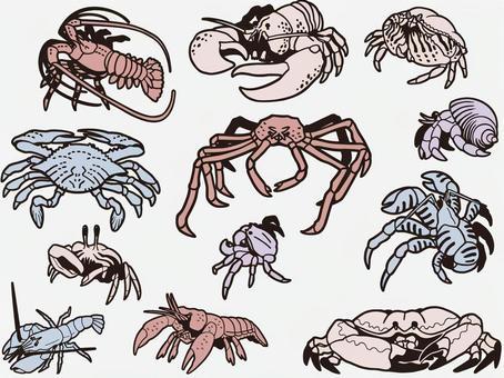 Crustacean set