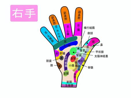 手 の ツボ 図解