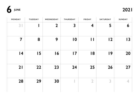 無料 カレンダー シンプル 2021 2021