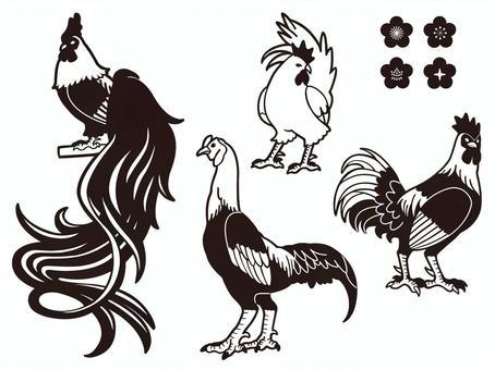 Chicken - Pen Painting