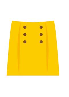 裙(黄色)
