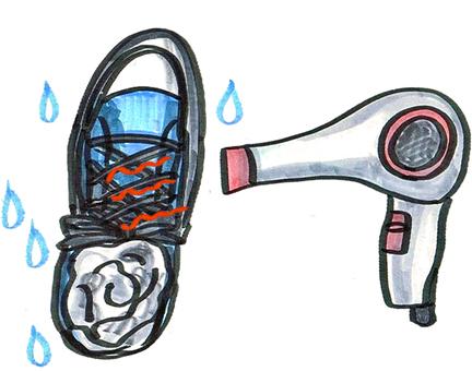 「靴がビショビショイラスト」の画像検索結果