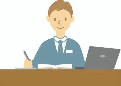 商人008(办公桌工作♪)