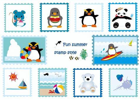 Stamp Wind Series 6 Summer