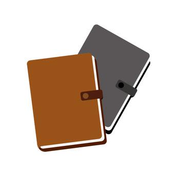 两本书的笔记本
