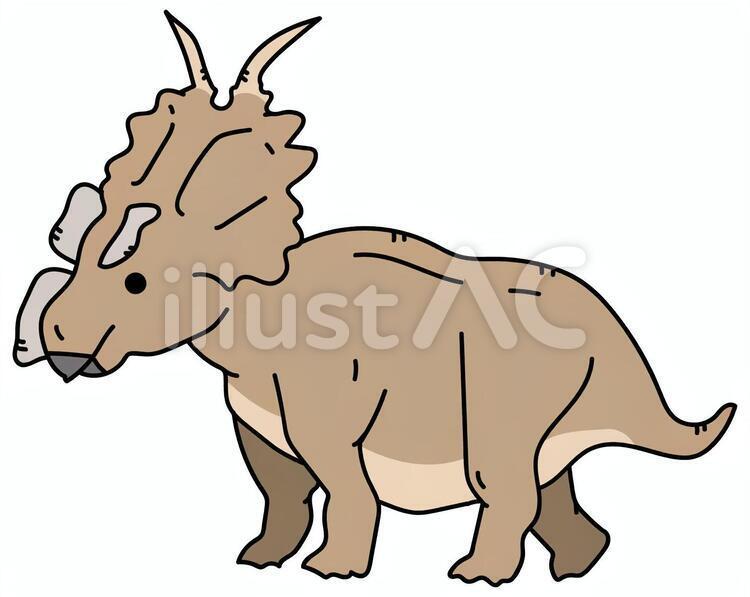 アケロウサウルスイラスト - No: 1593030/無料イラストなら「イラストAC」
