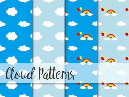 Cloud pattern (seamless)