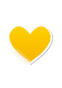 心脏卡(黄色)