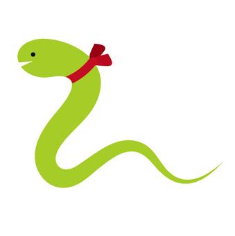 丝带蛇(绿)
