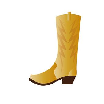 靴(黄色)
