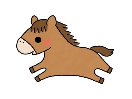 馬イラスト 無料イラストなら イラストac
