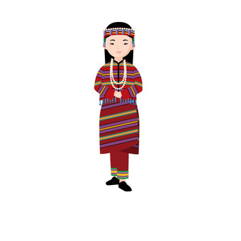 台湾 民族 衣装