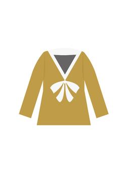 上衣(黄色)