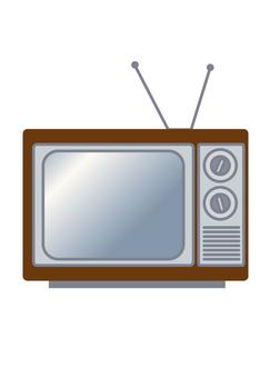 复古电视(棕色)