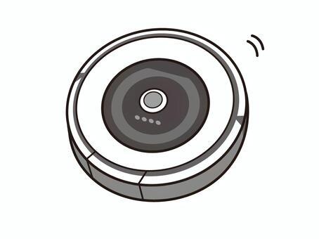 ロボット掃除機イラスト/無料イラストなら「イラストAC」