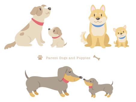 Dog parent and child _ 01