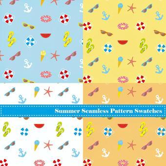 Summer wallpaper set