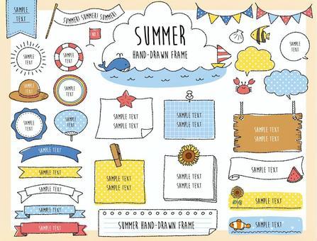 夏季框架设置02_手绘