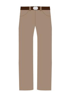 裤子(棕色)