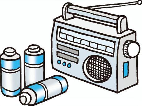 收音机和电池