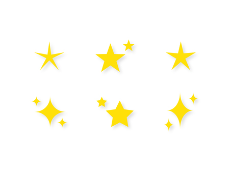 Simple icon (star · glitter)