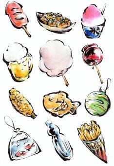 Summer Festival Illustration