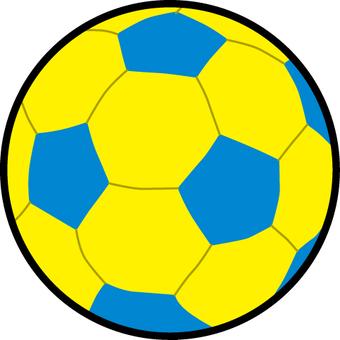 サッカー ボール イラスト