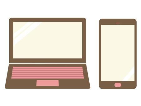 智能手机和电脑