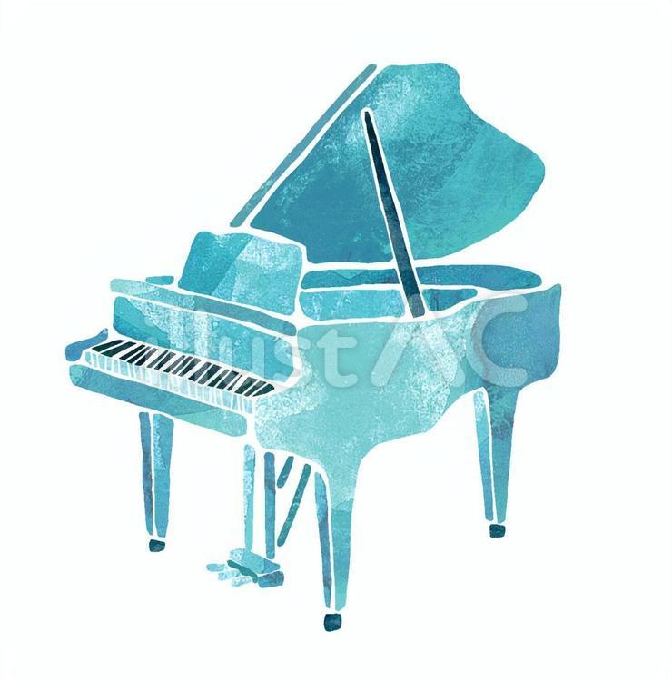 【えきまちテラス長浜に碧いストリートピアノが誕生!】