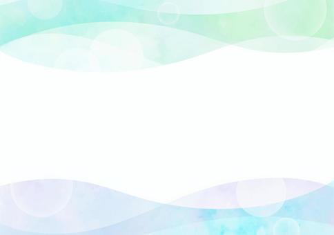 背景材料波蓝×绿