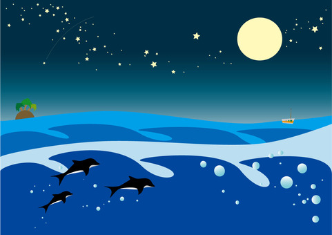 Sea and Starry Sky