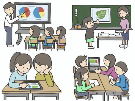 教育ict機器イラスト/無料イラストなら「イラストAC」