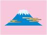 シンプルな富士山アイコン