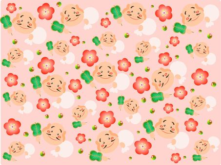 Hotei Zun background wallpaper
